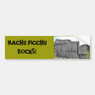 Autocollant De Voiture Machu Picchu bascule Bumpersticker