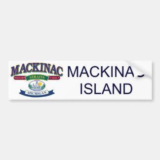 Autocollant De Voiture Mackinac-glacière-SVG [Conver