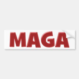 Autocollant De Voiture MAGA - Rendez l'Amérique grande encore