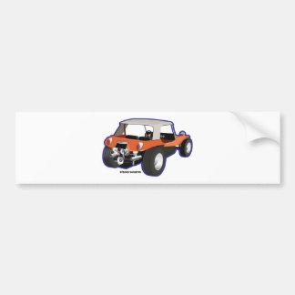 Autocollant De Voiture Mannois de buggy des sables