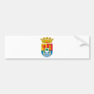 Autocollant De Voiture Manteau d'Estrémadure (Espagne) des bras