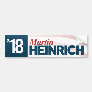 Autocollant De Voiture Martin Heinrich pour le sénat