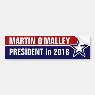 Autocollant De Voiture Martin O'Malley en 2016