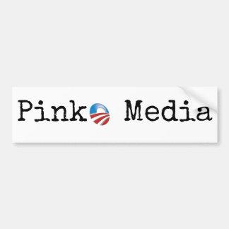 Autocollant De Voiture Médias gauchisants