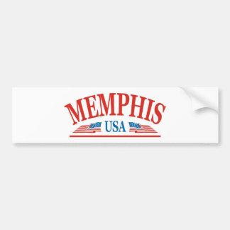 Autocollant De Voiture Memphis Tennessee Etats-Unis