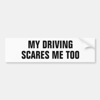 Autocollant De Voiture Mes alertes motrices imitation