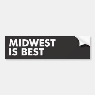 Autocollant De Voiture Midwest est le meilleur