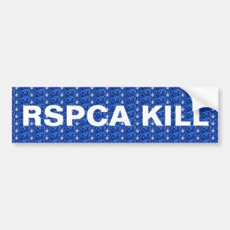 Autocollant De Voiture Mise à mort de l'adhésif pour pare-chocs RSPCA