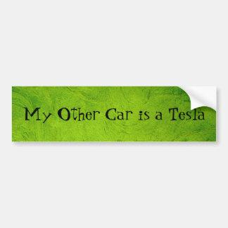 Autocollant De Voiture Mon autre voiture est un Tesla