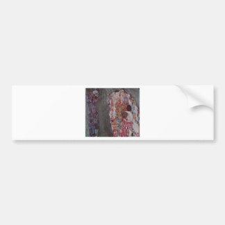 Autocollant De Voiture Mort et vie par Gustav Klimt