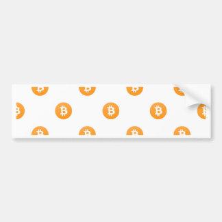 Autocollant De Voiture Motif de logo de Bitcoin