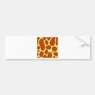 Autocollant De Voiture motif de taches de girafe