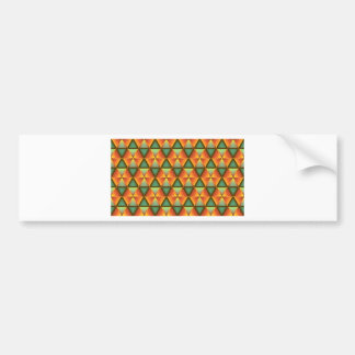 Autocollant De Voiture Motif orange de diamant