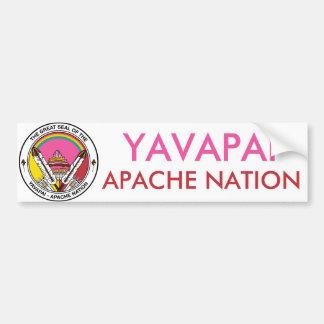 Autocollant De Voiture Nation de Yavapai Apache