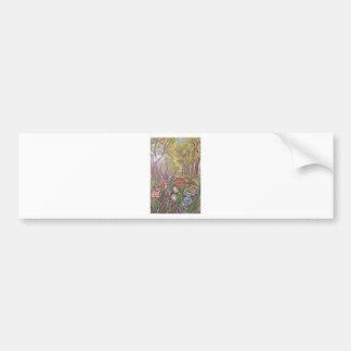 Autocollant De Voiture nature d'art de main de peinture de peinture de