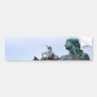 Autocollant De Voiture Neptunbrunnen - fontaine de Neptune - Berlin