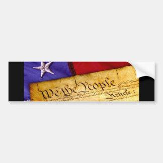 Autocollant De Voiture Nous la constitution de personnes des Etats-Unis