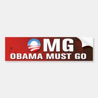 Autocollant De Voiture Obama doit aller adhésif pour pare-chocs
