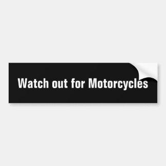 Autocollant De Voiture Observez pour l'adhésif pour pare-chocs de motos