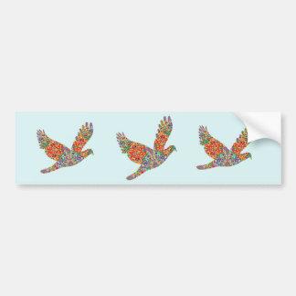 Autocollant De Voiture Oiseau CHANCEUX d'ange