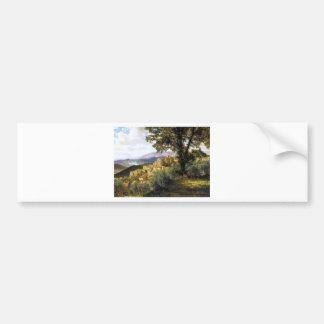 Autocollant De Voiture Olevano par Albert Bierstadt