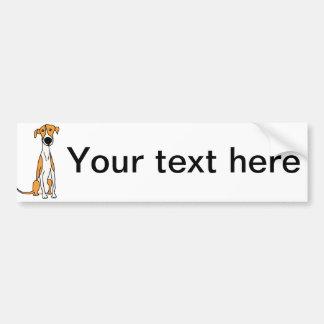 Autocollant De Voiture Original mignon de bande dessinée de chien de