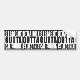 Autocollant De Voiture Outta droit la Californie