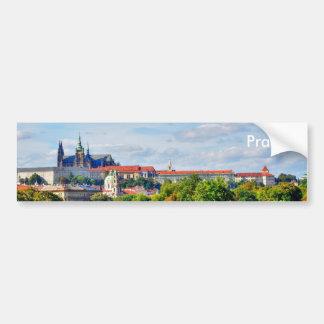 Autocollant De Voiture Panorama de château de Prague
