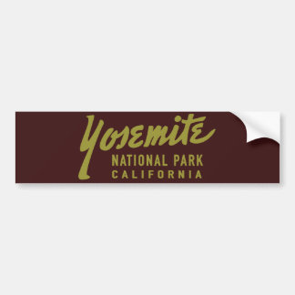 Autocollant De Voiture Parc national de Yosemite