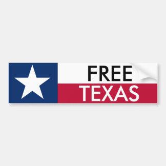 Autocollant De Voiture Pare-chocs libre Sticket du Texas