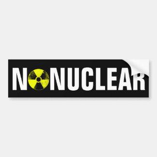 Autocollant De Voiture Pas nucléaire