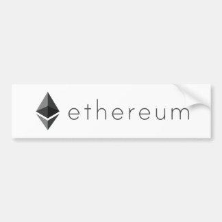 Autocollant De Voiture Paysage d'Ethereum