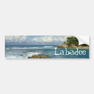 Autocollant De Voiture Paysage marin de Labadee