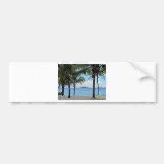 Autocollant De Voiture Peinture à l'huile Nassau Bahamas