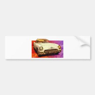 Autocollant De Voiture Peinture de 55 Corvette