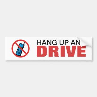 Autocollant De Voiture Pendez et conduisez l'adhésif pour pare-chocs -
