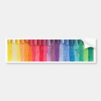 Autocollant De Voiture pensez en couleurs