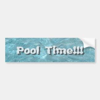 Autocollant De Voiture Personnalisez : Abrégé sur l'eau de piscine