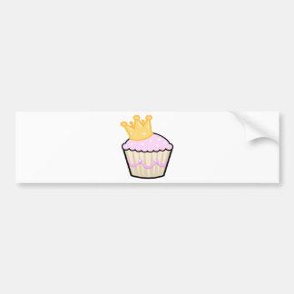 Autocollant De Voiture Petit gâteau blanc de fraise de chocolat -
