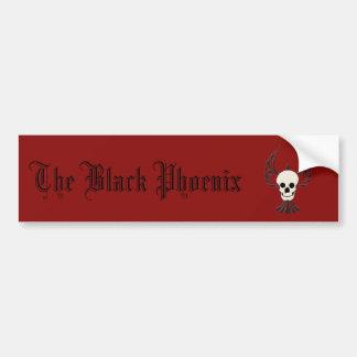 Autocollant De Voiture Phoenix noir Bumpersticker