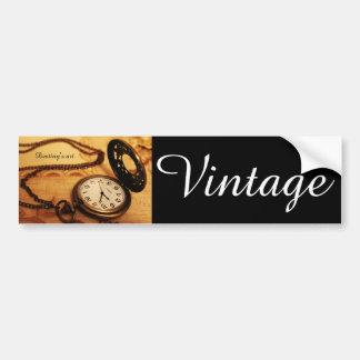 Autocollant De Voiture Photographie vintage de montre de poche