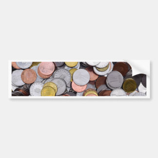 Autocollant De Voiture pièces de monnaie roumaines