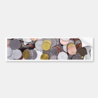 Autocollant De Voiture Pièces de monnaie roumaines de devise