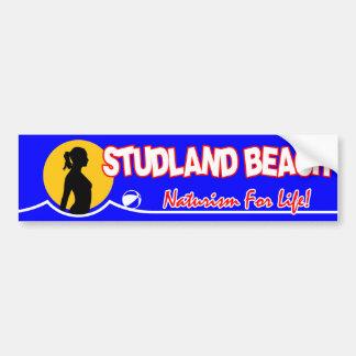 Autocollant De Voiture Plage de nudiste de Studland