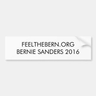 Autocollant De Voiture Ponceuses 2016 de Bernie