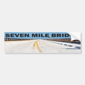 Autocollant De Voiture Pont de sept milles