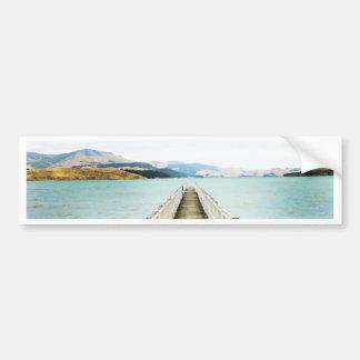 Autocollant De Voiture Port Nouvelle Zélande de diamant
