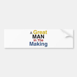 Autocollant De Voiture pour les garçons et les enfants - un grand homme