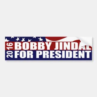 Autocollant De Voiture Président 2016 de Bobby Jindal