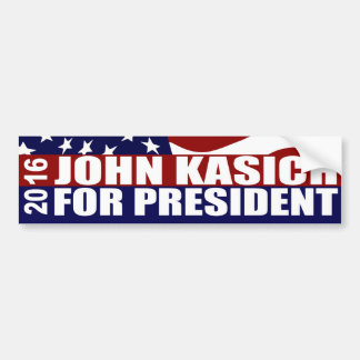 Autocollant De Voiture Président 2016 de John Kasich